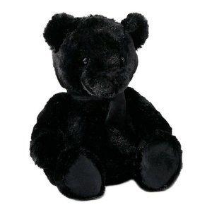 "Guillaume 12"" Faux Fur Teddy Bear, Black"